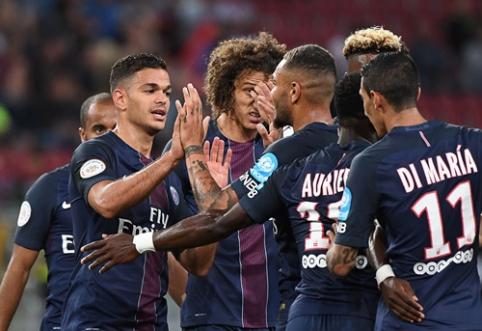 Prancūzijos Supertaurėje - PSG triumfas (VIDEO)