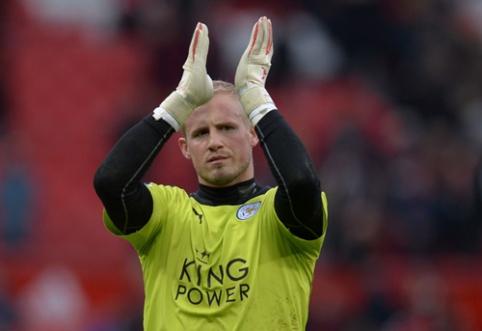 """K. Schmeichelis pasirašė naują kontraktą su """"Leicester City"""""""
