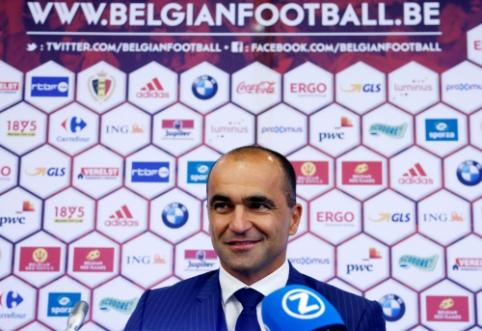 R. Martinezas: Belgijos rinktinė yra neįtikėtinai stipri
