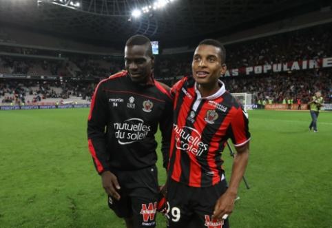 """M. Balotelli vedamas """"Nice"""" sutriuškino """"Monaco"""", """"Lyon"""" įveikė """"Montpellier"""" (VIDEO)"""