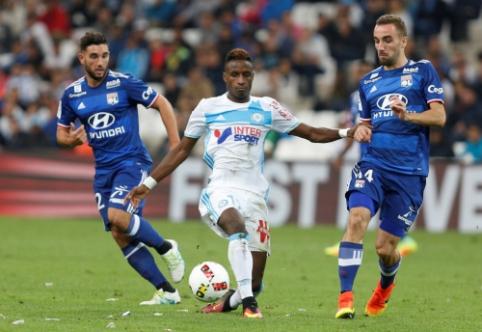 """""""Nice"""" užleido lyderio poziciją """"Monaco"""", """"Lyon"""" ir """"Marseille"""" akistatoje - lygiosios (VIDEO)"""