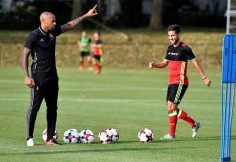E.Hazardas džiaugiasi T.Henry pagalba Belgijos rinktinei