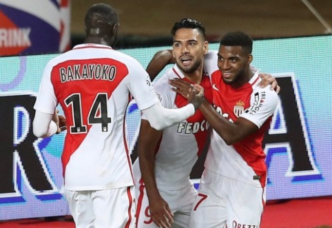 "Ligue 1: ""Monaco"" sudaužė ""Nancy"", ""Lyon"" įveikė ""Bastia"" (VIDEO)"