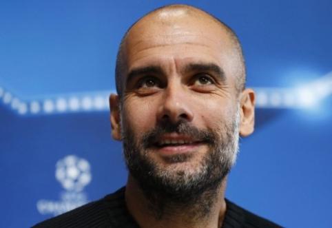 "P. Guardiola: akistata su ""Barca"" bus kaip finalas"