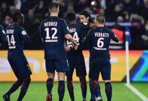"""Ligue 1: M. Balotelli užsidirbo raudoną kortelę, o """"Monaco"""" ir PSG priartėjo prie """"Nice"""" (VIDEO)"""
