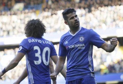 "D. Costos įvartis atnešė ""Chelsea"" pergalę prieš ""West Brom"" (VIDEO)"