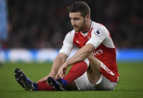 """S. Mustafi veda derybas su """"Arsenal"""" dėl sutarties nutraukimo"""
