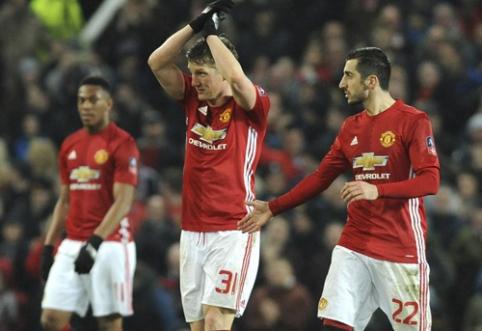 """""""Man Utd"""" prasibrovė į kitą FA taurės etapą (VIDEO)"""