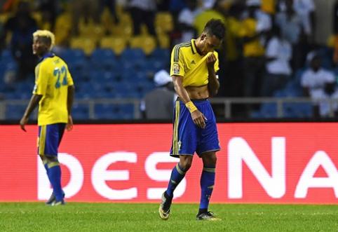 Afrikos Nacijų taurė: Gabonas savo pasirodymą baigė jau grupių etape