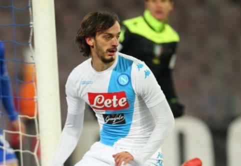"""""""Napoli"""" paliksiantis M. Gabbiadini domina kelis Anglijos klubus"""