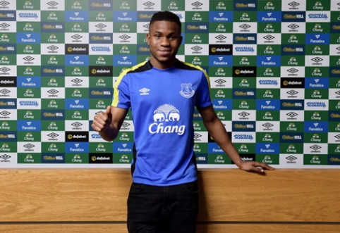 """Oficialu: """"Everton"""" už 10 mln. svarų sterlingų įsigijo perspektyvų 19-metį"""