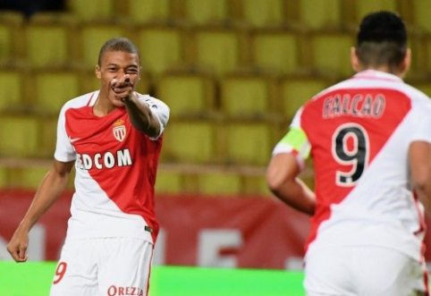 "Prancūzijoje - ""Lyon"" nesėkmė ir K. Mbappe hat-tricku pažymėta ""Monaco"" pergalė (VIDEO)"