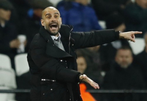 P. Guardiola prašo daugiau laiko: sudėties per naktį pakeisti neįmanoma