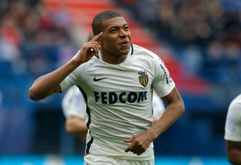 """Europos grandų dėmesį patraukęs K. Mbappe: galvoju tik apie """"Monaco"""""""