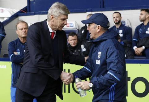 """T. Pulisas: A. Wengeras man pasakė, kad liks """"Arsenal"""" klube"""
