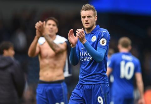 """""""Leicester"""" įveikė """"West Brom"""", """"Sunderland"""" klubui žygis """"Premier"""" lygoje baigėsi (VIDEO)"""