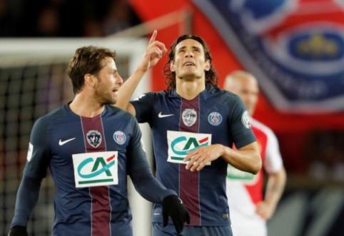 """PSG sudaužė """"Monaco"""" bei pateko į Prancūzijos taurės finalą (VIDEO)"""