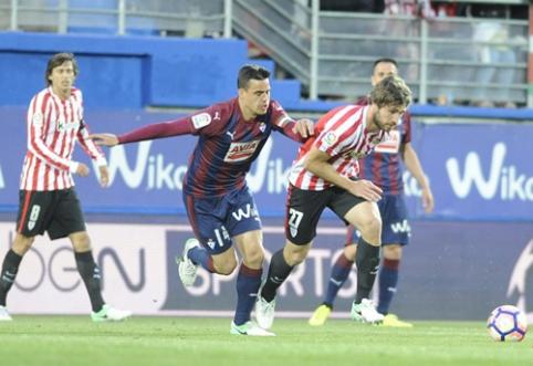 """""""Athletic"""" rungtynių pabaigoje palaužė """"Eibar"""""""
