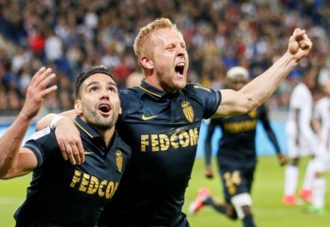 """""""Nice"""" beveik pasitraukė iš kovos dėl """"Ligue 1"""" titulo, """"Monaco"""" įveikė """"Lyon"""" (VIDEO)"""