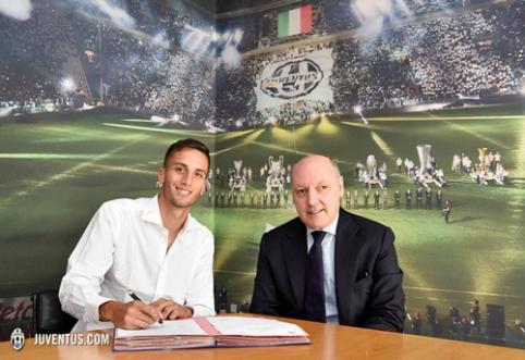 """Oficialu: """"Juventus"""" už 9,5 mln. eurų įsigijo perspektyvų saugą"""
