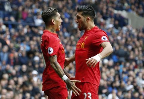 """""""Liverpool"""" išvykoje iškovojo sunkią pergalę prieš """"West Brom"""" (VIDEO)"""