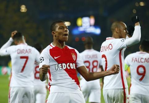 """Rezultatyvioje """"Borussia"""" ir """"Monaco"""" dvikovoje - prancūzų pergalė (VIDEO)"""