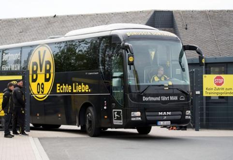 """Vokietijoje sulaikytas įtariamas """"Borussia"""" autobuso užpuolikas"""