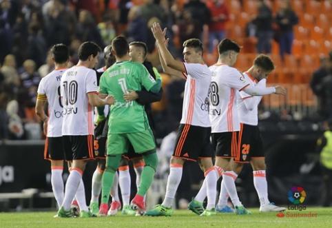 """Rezultatyvioje dvikovoje - """"Valencia"""" pergalė, """"Eibar"""" nugalėjo """"Las Palmas"""" (VIDEO)"""