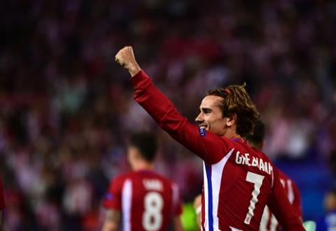 """A. Griezmannas: mano ateitis - """"Atletico"""" prezidento rankose"""