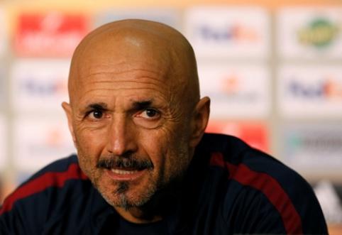 "Trenerio pareigas ""Roma"" klube palieka L. Spalletti"
