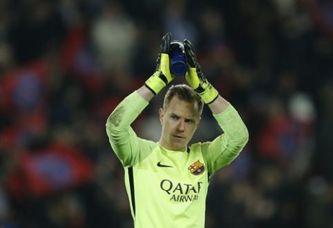 """Ter Stegenas susiejo ateitį su """"Barcelona"""""""
