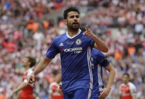 """D. Costa: """"Chelsea"""" palikčiau tik dėl Ispanijos"""