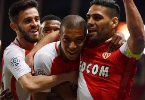 """Monaco"" - naujieji ""Ligue 1"" čempionai (FOTO, VIDEO)"