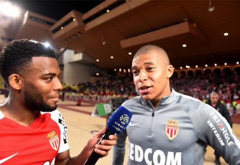 """""""Monaco"""" atmetė 80 mln. eurų pasiūlymą už K.Mbappe"""