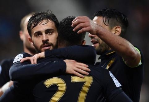 """PSG sudaužė autsaiderius, bet pergalę šventė ir """"Monaco"""" (VIDEO)"""