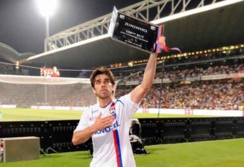 """Juninho - arti sugrįžimo į """"Lyon"""""""