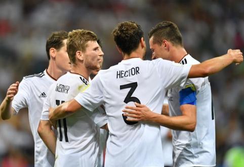 Vokietijos rinktinė sutriuškino Meksiką ir žengė į Konfederacijų taurės finalą (VIDEO, FOTO)
