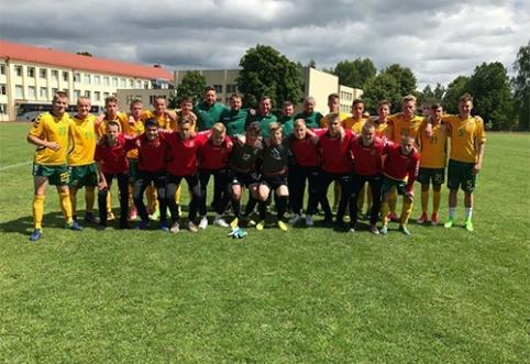 Ambicinga U-17 rinktinė dalyvaus Baltijos taurės turnyre