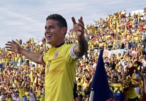 """Ispanijos žiniasklaida: J. Rodriguezas sutinka keltis į """"Man United"""""""