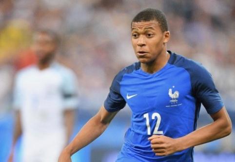 """""""Monaco"""" K. Mbappe siūlys net devynis kartus didesnį atlyginimą"""