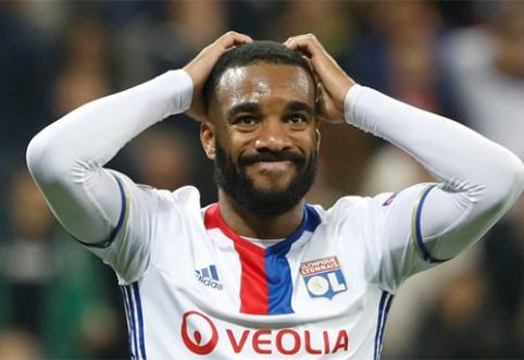 """Įspūdingą sumą pasiūlęs """"Arsenal"""" artėja prie """"Lyon"""" lyderio įsigijimo"""