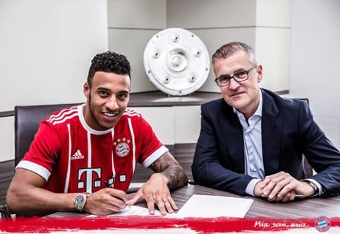 """Oficialu: """"Bayern"""" už rekordinę sumą klubui įsigijo prancūzą C. Tolisso"""