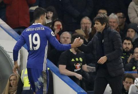 Atskleista, kokia žinute A. Conte pranešė D. Costai apie išvykimą