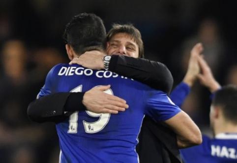 """D. Costa: Conte nenori manęs matyti """"Chelsea"""" gretose"""