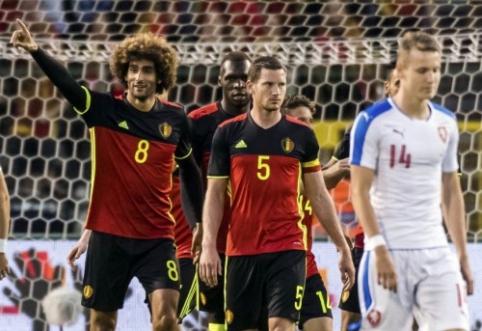 Draugiškose rungtynėse pergales šventė Belgija ir Rusija (VIDEO)