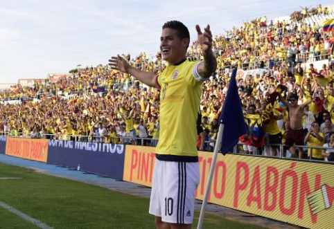 """Agonijos pabaiga: J. Rodriguezas keliasi į """"Bayern"""""""