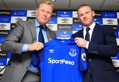 R.Koemanas: W.Rooney atvykimas kilstelės klubo ambicijas