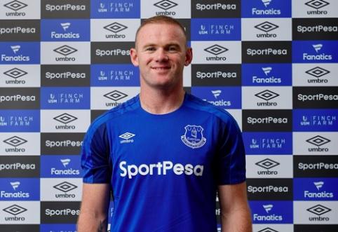 """Į """"Everton"""" sugrįžusio W. Rooney misija - laimėti titulų"""