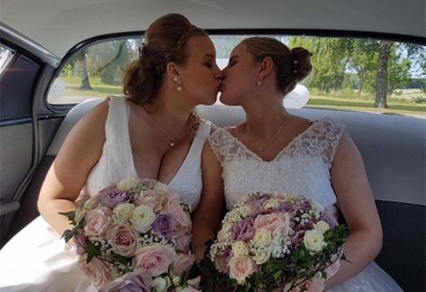 POP: Lietuvos rinktinės žaidėja susituokė su širdies drauge