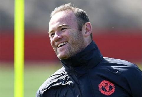 """W.Rooney atvyko atlikti medicininės apžiūros į """"Everton"""" komandą"""